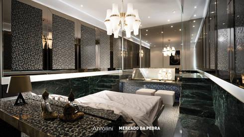 Photography of the bedroom: Locais de eventos  por Mercado da Pedra
