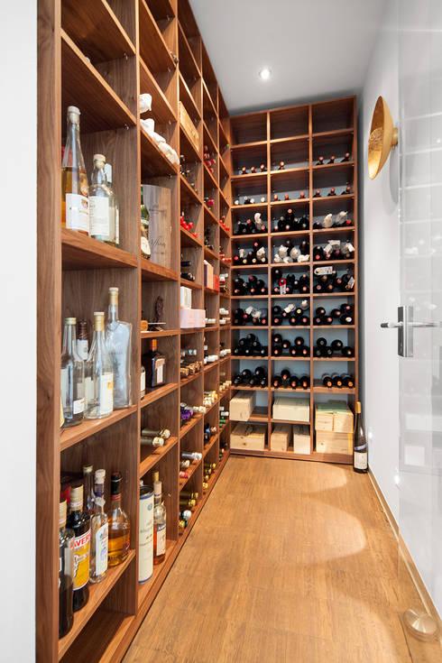 Projekty,  Piwnica win zaprojektowane przez Herzog-Architektur