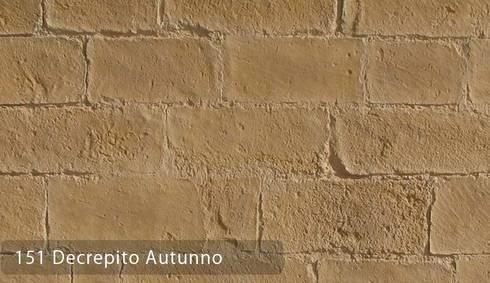 Decrepito Yığma Taş Paneller: Paisajismo de interiores de estilo  por Sena Stone