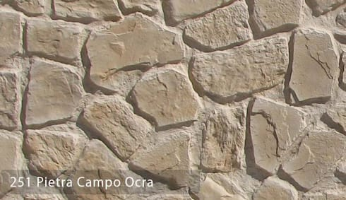 Pietra Cambo Taş Panelleri: Paisajismo de interiores de estilo  por Sena Stone