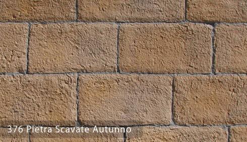 Pietra Scavate Taş Panelleri: Paisajismo de interiores de estilo  por Sena Stone