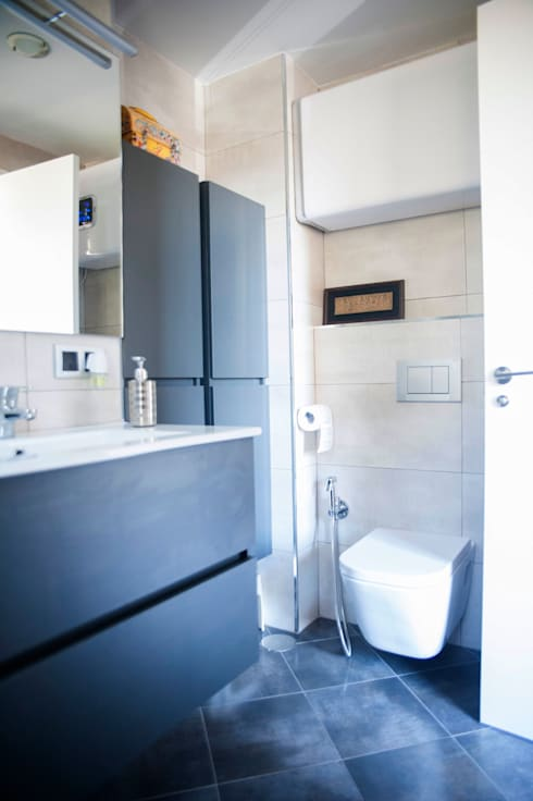 Después de la Reforma Cuarto de baño : Baños de estilo  de Arquigestiona Reformas S.L.