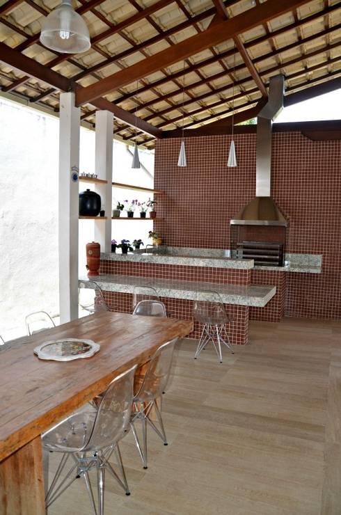 Terrazas  de estilo  por Solange Figueiredo - ALLS Arquitetura e engenharia