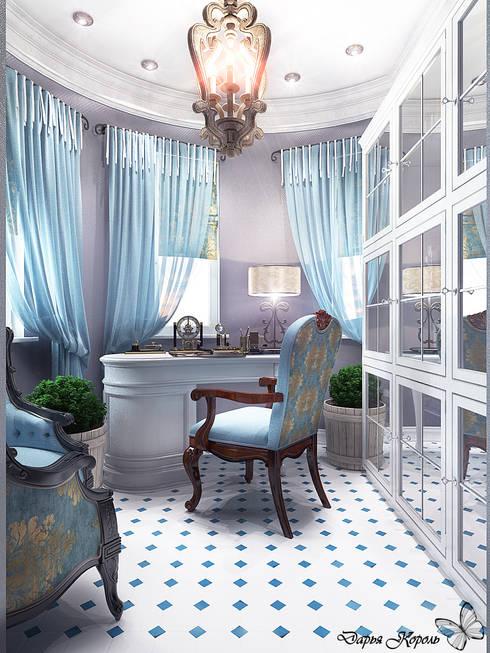 Кабинет: Рабочие кабинеты в . Автор – Your royal design