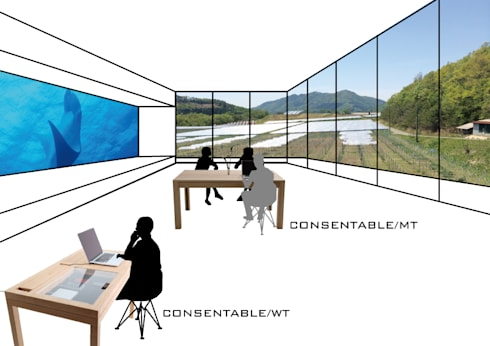 VISION: CONSENTABLEが手掛けた勉強部屋/オフィスです。