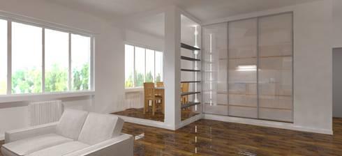 Casa privata - Loft a Milano: Cucina in stile in stile Moderno di Studio Arch. Matteo Calvi