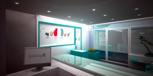 Exhibición: Espacios comerciales de estilo  por Js