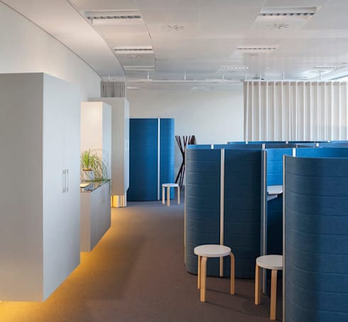 Oficina en torre iberdrola de mlmr architecture consultancy homify - Oficinas de iberdrola en bilbao ...