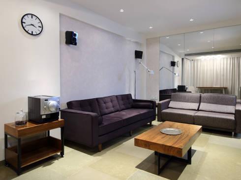 Residential - Bandstand: modern Living room by Nitido Interior design