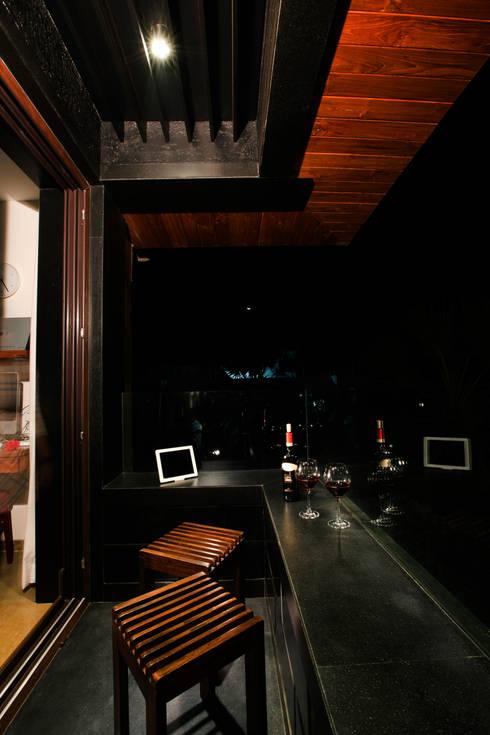Residential - Bandstand:  Balconies, verandas & terraces  by Nitido Interior design