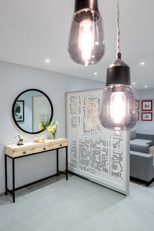 Salas/Recibidores de estilo  por Nitido Interior design
