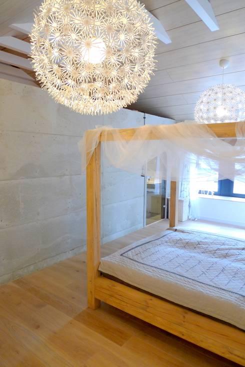 Dom jednorodzinny w Tarnowskich Górach: styl , w kategorii Sypialnia zaprojektowany przez seweryn pracownia