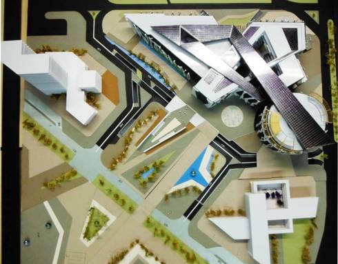 EPICENTRO DE MODA -BOGOTA: Centros de exhibiciones de estilo  por AKUMAJAA PROYECTOS