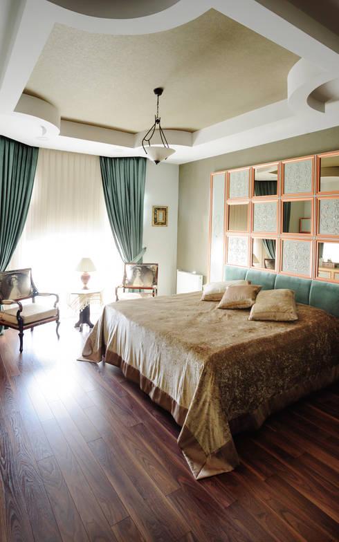 غرفة نوم تنفيذ Bilgece Tasarım