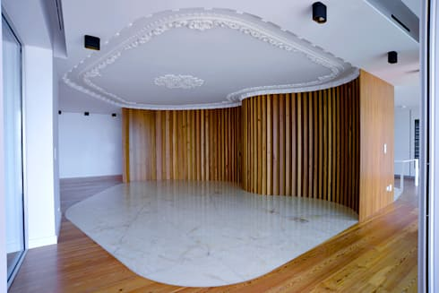 Sala de Jantar: Salas de jantar clássicas por GRAU.ZERO Arquitectura