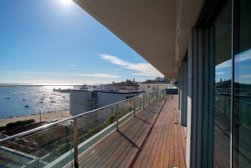 Varanda: Terraços  por GRAU.ZERO Arquitectura