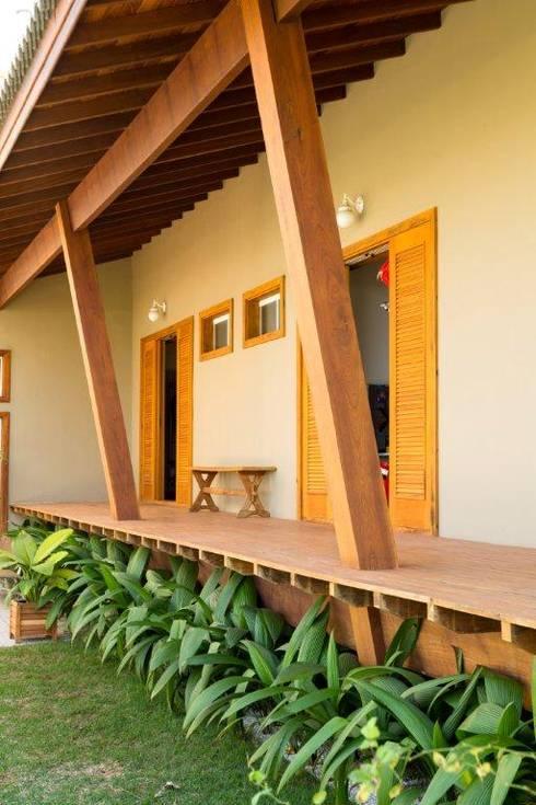 Terrasse von Flavio Vila Nova Arquitetura