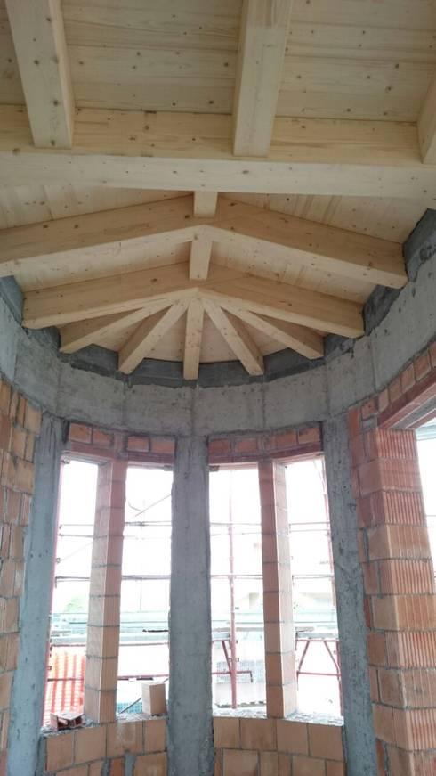 Progetto ingresso e studio villa in friuli di rinnoviamo for Piani di casa in stile west indian