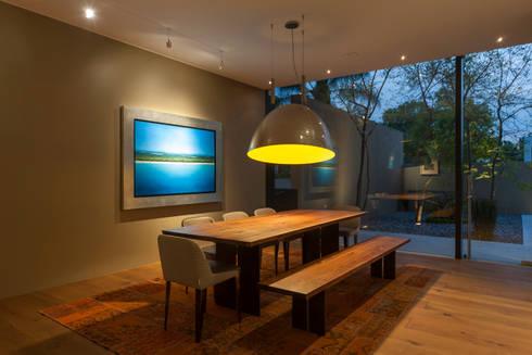 Comedor: Comedor de estilo  por MAAD arquitectura y diseño