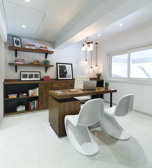Commercial - Khar: minimalistic Study/office by Nitido Interior design
