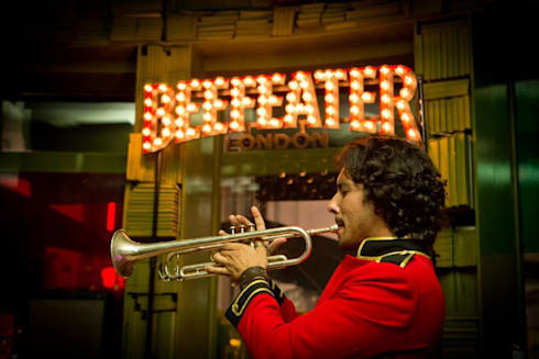 BEEFEATER Light: Arte  por LIGHTYPE