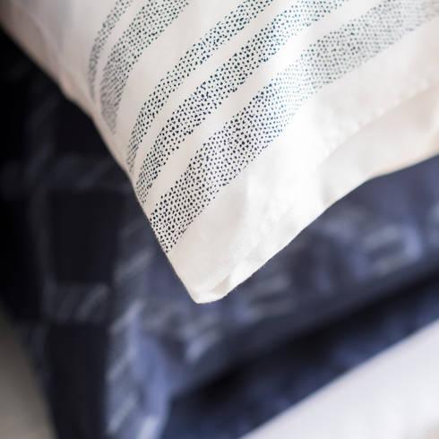 Regatta - Roupa de cama 100% Algodão Egipto Penteado: Quarto  por Home Concept