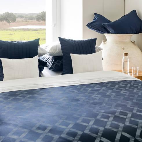 Regatta - Roupa de cama 100% Algodão Egipto Penteado | Almofadas decorativas: Quarto  por Home Concept