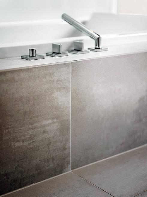 minimalistische Badkamer door Skandella Architektur Innenarchitektur