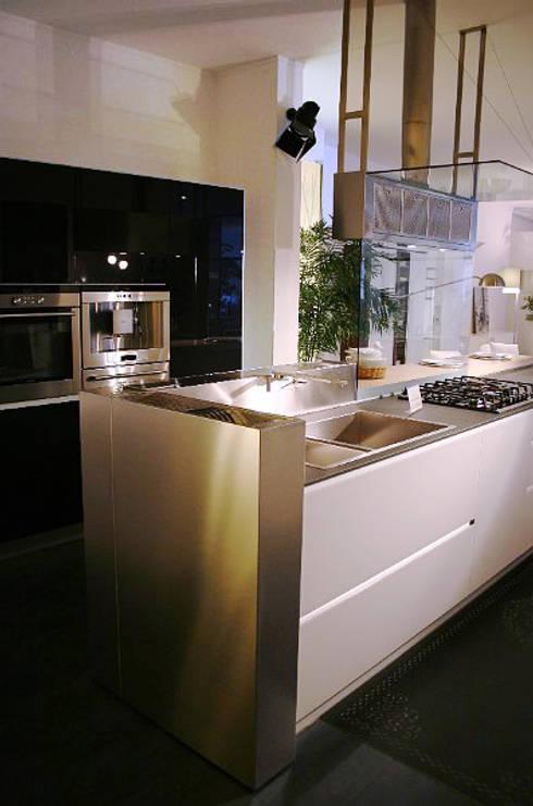 Projekty,  Kuchnia zaprojektowane przez Arch. Vittoria Ribighini