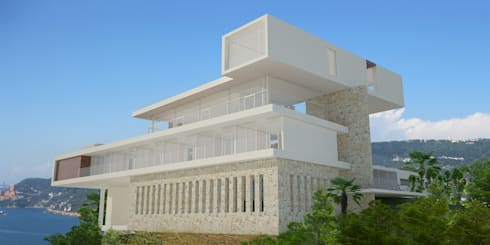 Casa Cima Real : Casas de estilo moderno por ARCO Arquitectura Contemporánea