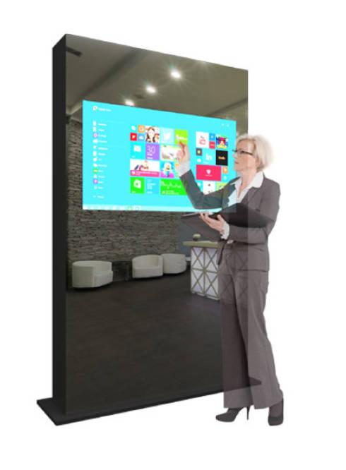 Sistema Full Touch: Escritórios e Espaços de trabalho  por Glassinnovation - Glass'IN