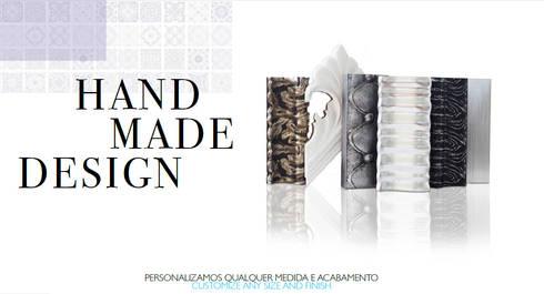 Hand made design:   por Glassinnovation - Glass'IN