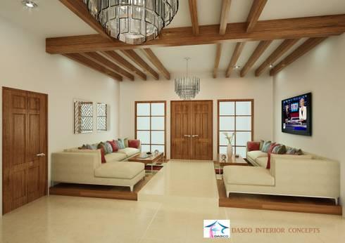 Semi Italian Interior Design for Villa at Dubai:   by SHEEVIA  INTERIOR CONCEPTS