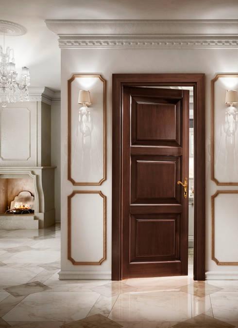 Dise os de puertas de madera para interiores puertas para for Puertas de madera interiores modernas