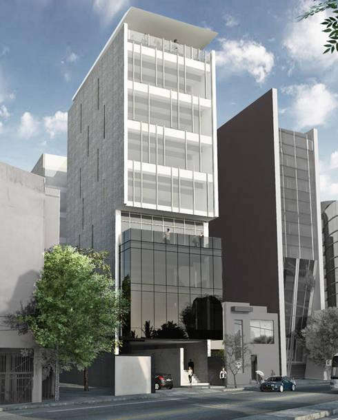 Casas de estilo  por ARCO Arquitectura Contemporánea