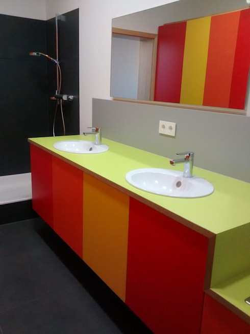 Baños de estilo  por Möbel Graf GmbH