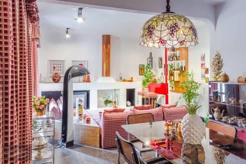 Sala de Jantar: Salas de jantar mediterrânicas por Pedro Brás - Fotografia de Interiores e Arquitectura | Hotelaria | Imobiliárias | Comercial