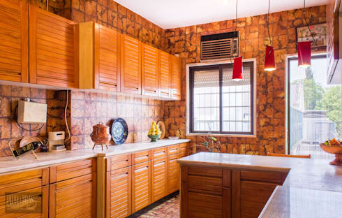 Cozinha: Cozinhas mediterrânicas por Pedro Brás - Fotografia de Interiores e Arquitectura | Hotelaria | Imobiliárias | Comercial
