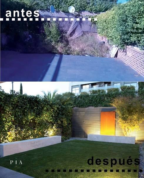 Jardines de estilo  por Paisajismo e Ingeniería Aplicada