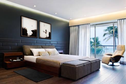 Residential—Juhu 2: modern Bedroom by Nitido Interior design