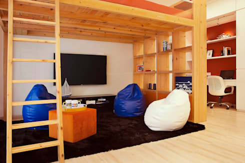 Residential—Juhu 2: modern Nursery/kid's room by Nitido Interior design