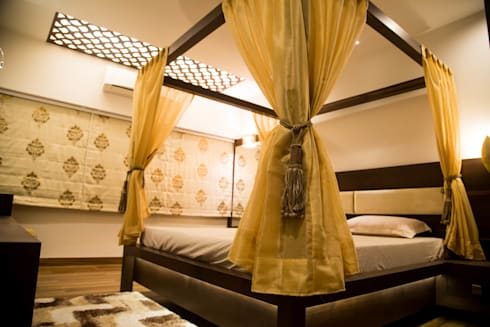 NRI Project: classic Bedroom by Intraspace