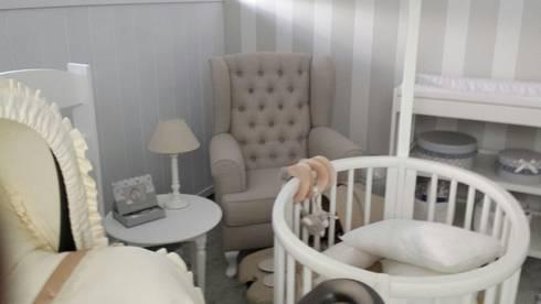 Afaiate do sofá: Quarto de crianças  por Alfaiate do Sofá