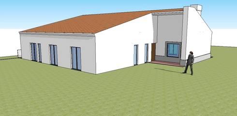 Habitação Unifamiliar  - Guia - Albufeira:   por 7@ARQ. (arquitectura & construção)