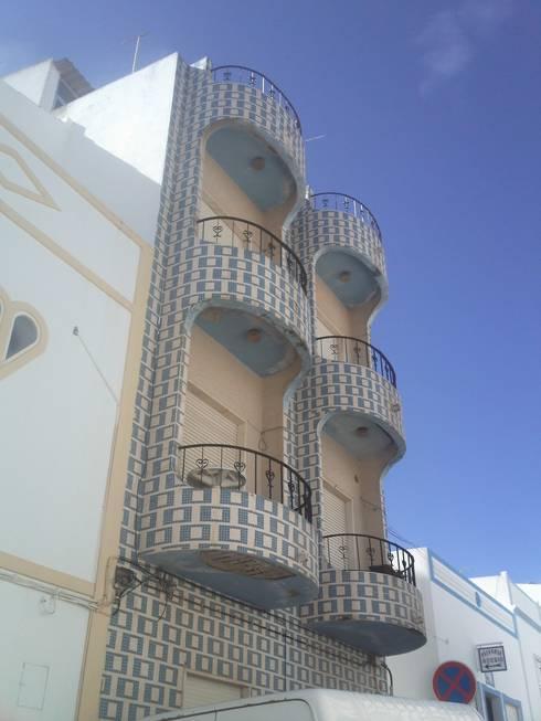 Habitação Multifamiliar - Rossio - Albufeira:   por 7@ARQ. (arquitectura & construção)