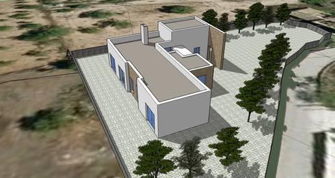 Habitação Unifamiliar – Loulé:   por 7@ARQ. (arquitectura & construção)