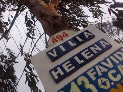 Cabañas Villa Helena: Casas de estilo rural por Rio Vivo Arquitectura, Taller y Diseño.