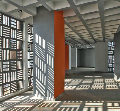 School of Sciences:  Corridor & hallway by DCOOP ARCHITECTS