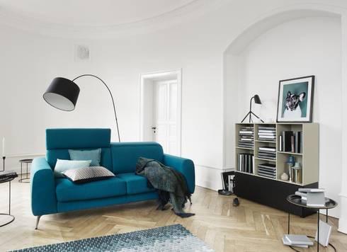 Sofá-Cama Madison: Sala de estar  por BoConcept Lisboa