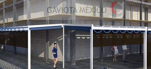 Proyecto Palillerias ZEN  GAVIOTA  para Centro Comercial de Mexico: Centros Comerciales de estilo  por GAVIOTA MEXICO